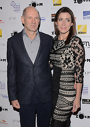 Adrian Newey and Amanda Smerczak attend Zoom F1 Charity Auction and Reception at The InterContinental Hotel, Park Lane, London on Friday 16 January 2015