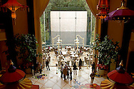 Lounge and Lagoon at the Wynn Casino and Hotel Resort, Las Vegas, Nevada