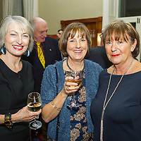 (l to r) Mareta Doyle, Angela Maguire, and Irene Hennessey at the Classic Dragon Reunion in the Royal St George Yacht Club (Dún Laoghaire) where a large number of current and classic Dragon sailors gathered to celebrate the long (and continued) success of the class.