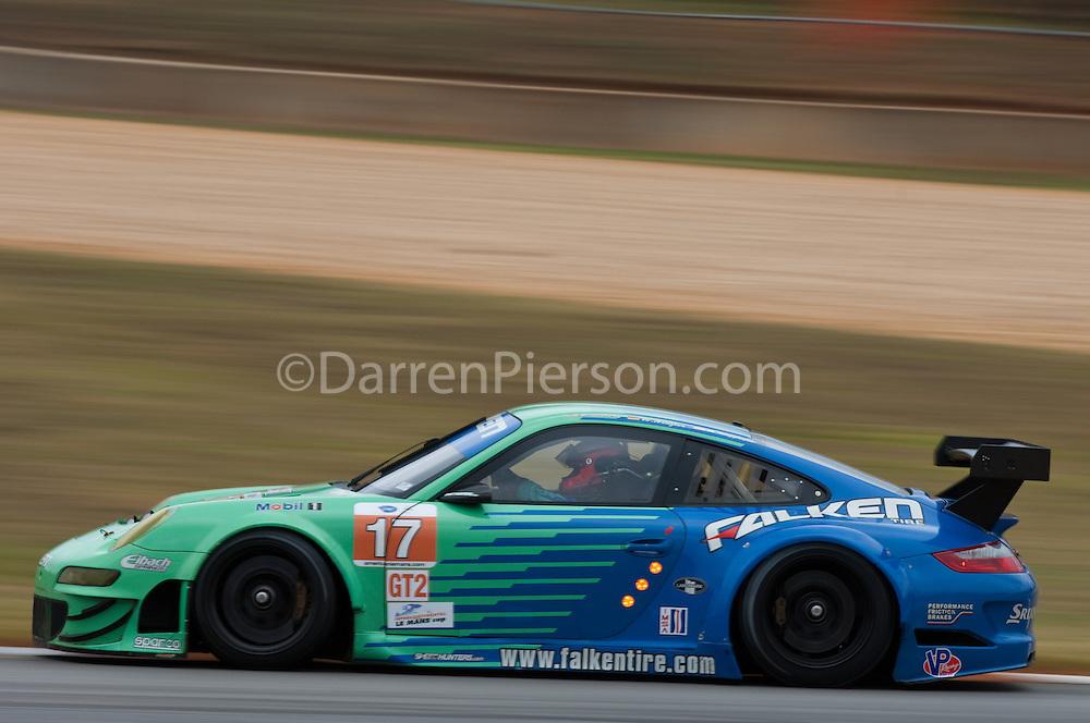 #17 Team Falken Tire Porsche 911 GT3 RSR: Bryan Sellers, Martin Ragginger