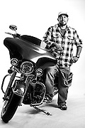 Jarod Famison<br /> Army<br /> E-4<br /> Airborne<br /> Feb. 15, 2001<br /> <br /> Veterans Portrait Project<br /> Laconia, NH<br /> Laconia Bike Week