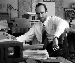 Frank Israel Portrait by Tom Bonner