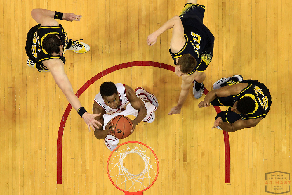 Indiana guard Yogi Ferrell (11) as Michigan played Indiana in an NCCA college basketball game in Bloomington, Ind., Sunday, Feb. 8, 2015. (AJ Mast / Photo))