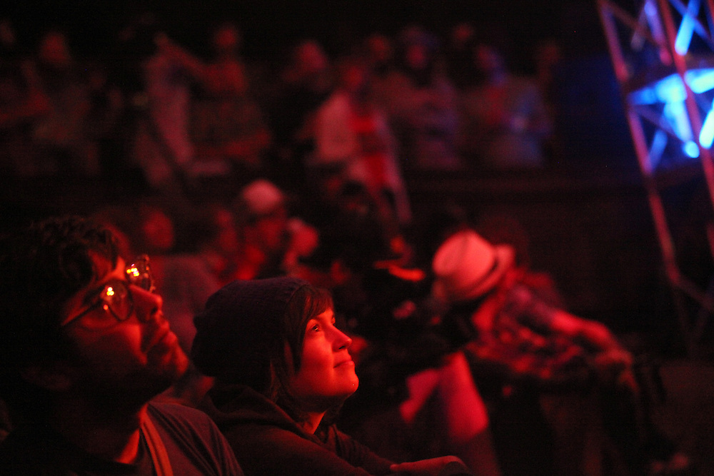 Damien Jurado, Bill Callahan, Mavis Staples at Pickathon on Aug. 6, 2011.