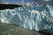The Pio XI/Bruggen Glacier is the largest in the Southern Patagonia Icefield in Chile, as seen on Jan. 29, 2004. Daniel Beltra/Greenpeace.