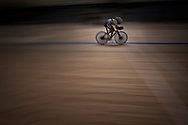 Rio de Janeiro, Brazil, 2007:   The Colombian María Luisa Calle, winner of Individual Pursuit Track Cycling race at the velodrome.  (Photo: Caio Guatelli)