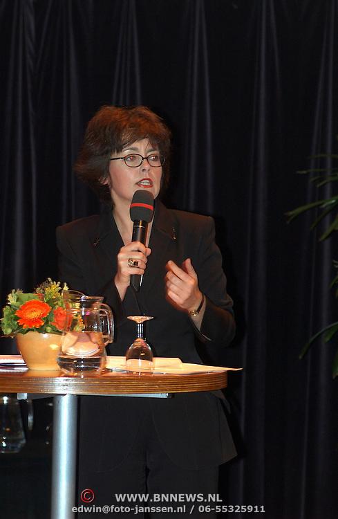 Lijsttrekkersdebat Ouderen, Jacobine Geel
