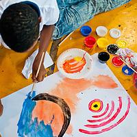 TALLER DE PINTURA DICTADO POR LA ARTISTA PANAMEÑA OLGA SINCLAIR - PANAMA 2012