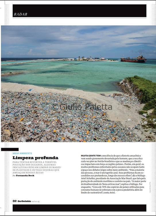Thilafushi, the rubbish island, Maldives. Published in Go Outside magazine, Brazil, February 2017