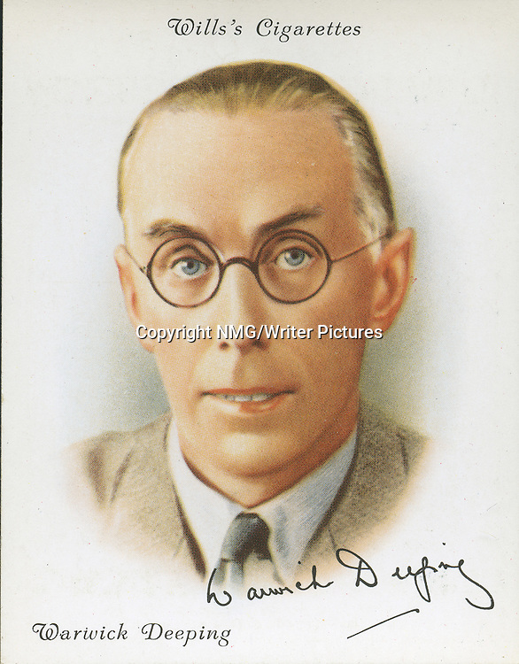 Warwick Deeping, English Novelist, and Short-Story Writer<br /> <br /> Copyright NMG/Writer Pictures<br /> WORLD RIGHTS