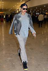 MAY 09 2014 Rita Ora arrives at Heathrow Airport from Germany
