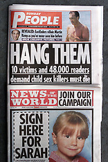 Sunday Papers - Child Offenders - 2000