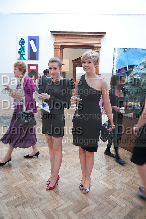 MARY HOOD; LILY HOOD, Royal Academy Summer Exhibition 2009 preview party. royal academy of arts. Piccadilly. London. 3 June 2009.