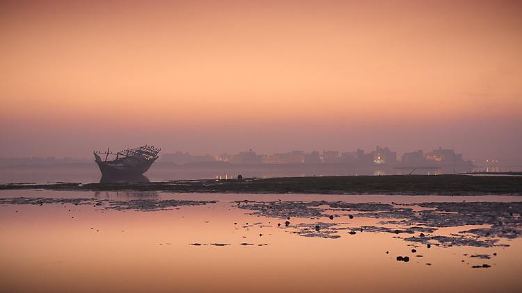 Dhow at Dawn - Bahrain