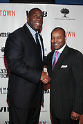7 March 2011- New York, NY- l to r: Irving Johnson and Kenard Gibbs at the Power of Urban Presentation and Reception hosted by Magic Johnson and Yucaipa and held at the Empire Penthouse on March 7, 2011 in New York City. Photo Credit: Terrence Jennings/Photo Credit: Terrence Jennings for Uptown Magazine