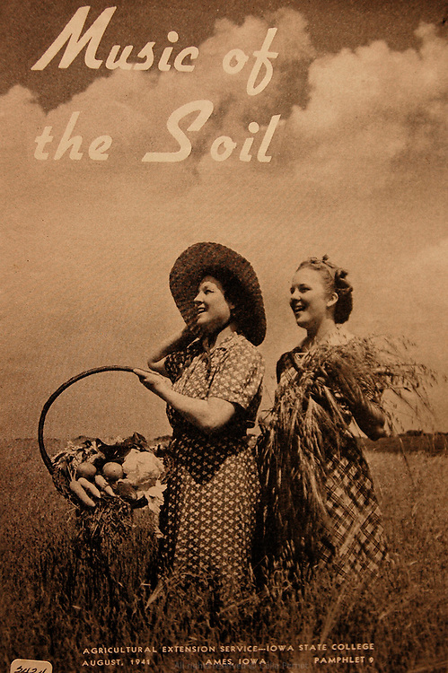 Music of the soil poster.