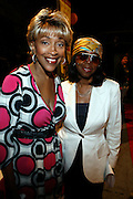 "Cynthia Holiday Moore and Sandra Trim-DaCosta at The launch of the Women in Entertainment Empowerment Network's (WEEN) ""Don't Judge Me...EmPower Me"" national tour, where entertainment icons and executives will participate with thousands of young adults in intimate, interactive panel discussions held at the Hammerstein Ballroom on June 28, 2008..Topics include health; financial literacy, hosted by Genworth Financial; leadership and career development, hosted by Interpublic Group (IPG) and relationships, hosted by BET Networks.."