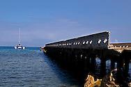 Mala Pier, Topside West View, Maui Hawaii