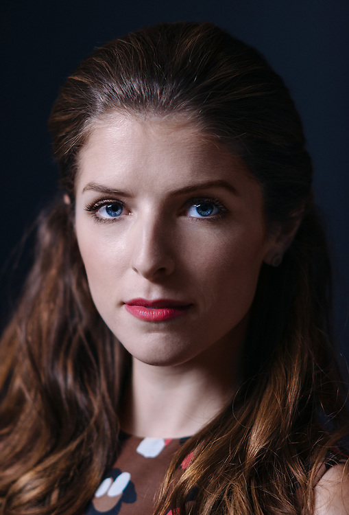 Actres Anna Kendrick is photographed at the WireImage Portrait Studio during the 2014 Toronto Film Festival on September 9, 2014 in Toronto, Ontario. (Photo by Jeff Vespa)