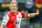 ROTTERDAM - Feyenoord - Vitesse , Voetbal , Seizoen 2015/2016 , Eredivisie , De Kuip , 23-08-2015 , Speler van Feyenoord Dirk Kuyt excuseert zich voor foute pass