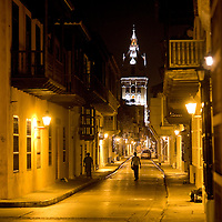 Midnight in Cartagena, Colombia ..Photo by Robert Caplin..