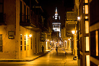 Midnight in Cartagena, Colombia ..Photo by Robert Caplin..
