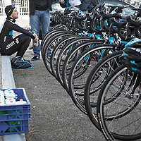 Team Sky Pinarello bikes