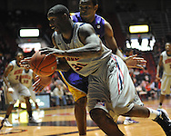 "Ole Miss' Murphy Holloway (31) vs. LSU  at the C.M. ""Tad"" Smith Coliseum in Oxford, Miss. on Saturday, February 25, 2012. (AP Photo/Oxford Eagle, Bruce Newman)..."
