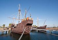Replica of Columbus' ship, the Santa Maria, Huelva, Spain