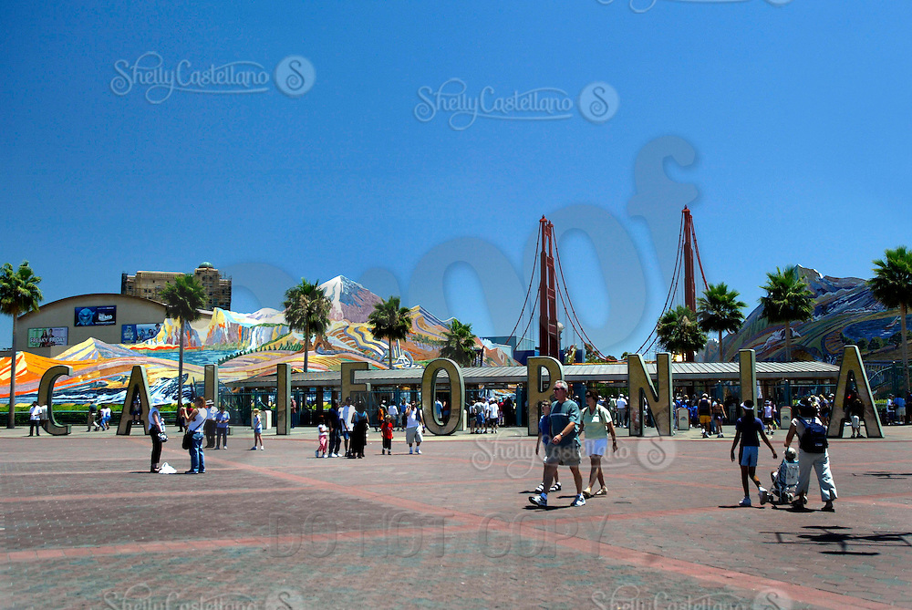 Jul 01, 2003; Anaheim, California, USA; Disney's California Adventure Theme Park located in Orange County right across the entrance to Disneyland in Southern California. Home to the original home of Disney.
