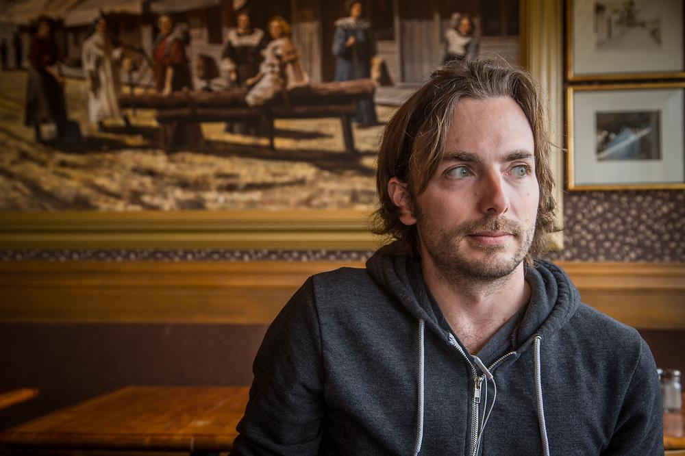 Kris Swanson at Simon & Seafort's, Anchorage