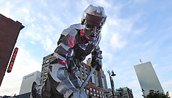 June 2; Newark, NJ, USA; Atmosphere outside game 2 of the 2012 Stanley Cup Finals Game 2 at the Prudential Center.
