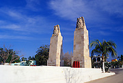 Image of a monument in downtown La Paz, Mexico, Baja California Sur