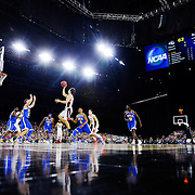 Gonzaga beats UCLA in the Sweet Sixteen in Houston, Texas and advances to the Elite Eight in the NCAA Tournament. (Photo by Rajah Bose)