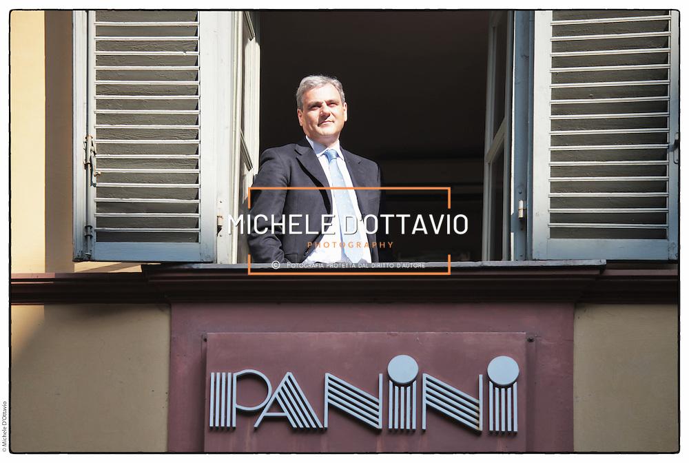 Nicola Aliperti CEO of PANINI. Turin, Italy