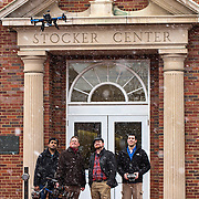 Russ College personnel and UAVs photographer on Thursday, February 12, 2015.