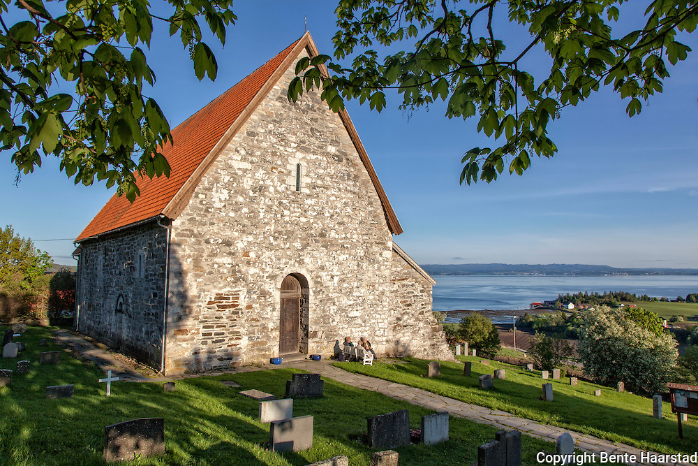 The stone church is one of the oldest churches in Trøndelag, dating back to about 1150. The church was consecrated by Archbishop Eysteinn Erlendsson in 1184.