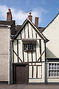 Half-timbered House in Wotton-under-Edge, Gloucestershire