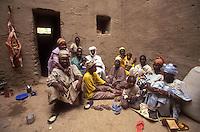 family in Djenne, Mali