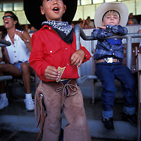 Santa Barbara rodeo fan.