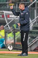 DEN HAAG - ADO Den Haag - Telstar , Voetbal , KNVB Beker , Seizoen 2016/2017 , Kyocera Stadion , 25-10-2016 , Telstar trainer Michel Vonk