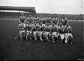 1961 Oireachtas Hurling Final Tipperary v Wexford