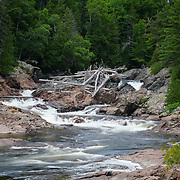 &quot;Chippewa Falls and River&quot;<br /> <br /> Scenic Chippewa Falls during summertime in Ontario, Canada!