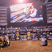 Rodeo Show at the Mohegan Sun Invitational by the PBR - Professional Bull Riders in CT