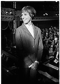 1968- Julie Andrews filming 'Darling Lilli' at the Gaiety Theatre, Dublin.