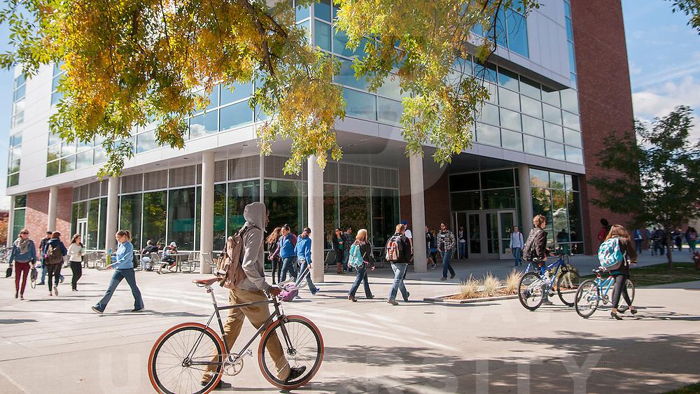 Campus Scenes, Fall, Students, Library, ILC, Math, Admin, ac