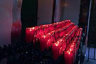 Votive Prayer Candles Mission San Juan Capistrano California