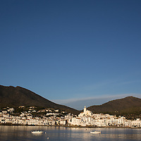 The seaside town of Cadaques, Spain once home to the artist Salvador Dali