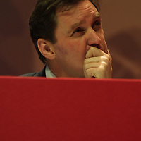 ALAN MILBURN, Labour Party conference, in Glasgow, Scotland, 16th February 2003.