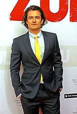 MAY 05 2014 Orlando Bloom attends the German premiere of the film Zulu